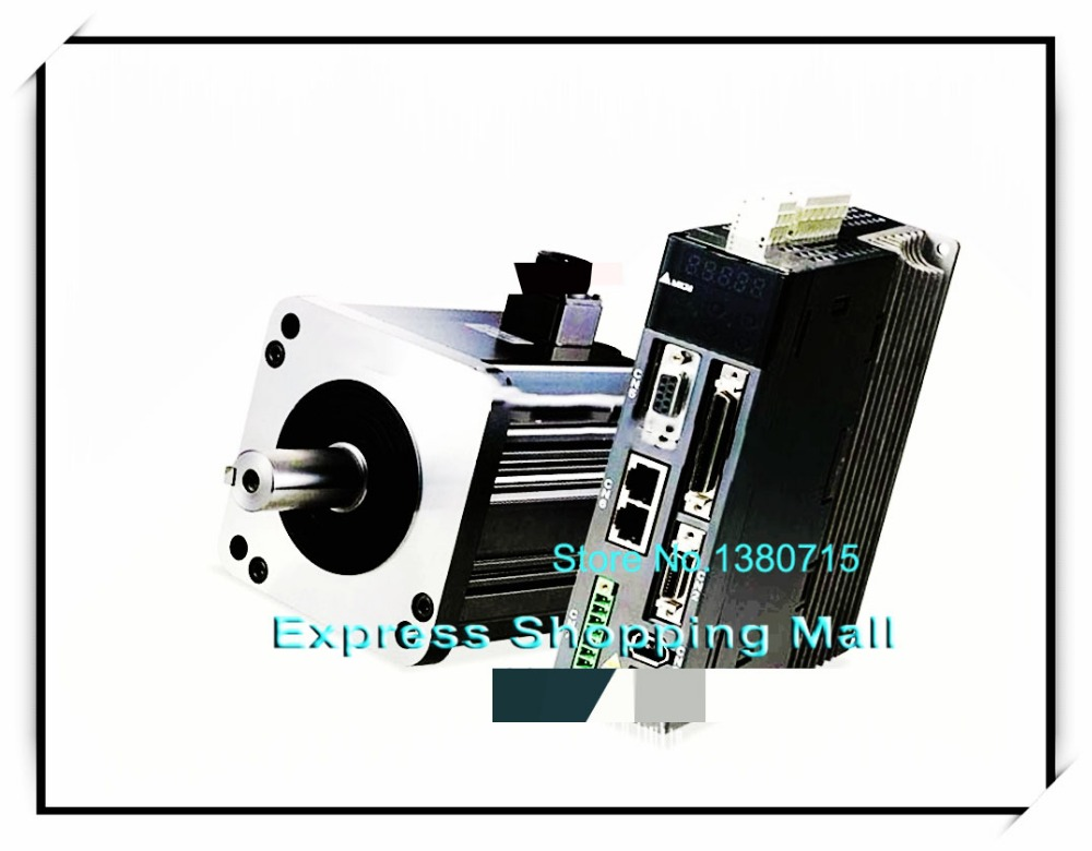 ECMA-L11830SS ASD-A2-3043-U 400V 3KW 1500r/min AC Servo Motor & Drive kits ECMA-L11830SS + ASD-A2-3043-U ecma l11830rs asd a2 3043 m delta 400v 3kw 19 10nm 1500r min 180mm keyway ac servo motor drive kits with 3m cable