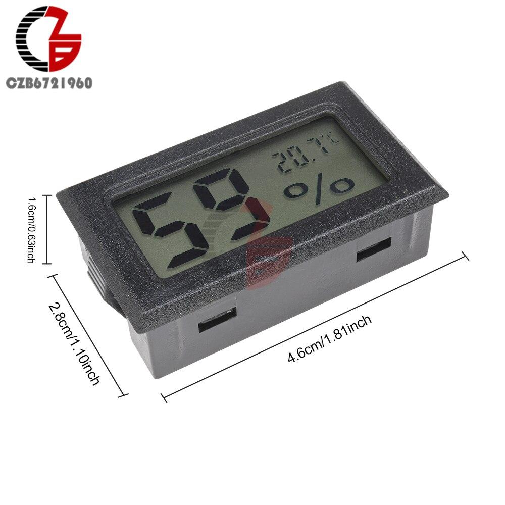 HTB1l4bid8gXBuNjt hNq6yEiFXaA Accurate Indoor Room LCD Digital Thermometer Hygrometer Thermo-Hygrometer Temperature Humidity Meter Moisture Measurment Monitor