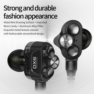 Image 4 - Plextone DX6 Detach Sport Earphone Combinable Bluetooth 5.0 3.5mm HIFI Stereo Bass headphone TYPE C Wired Earbuds MMCX Cable