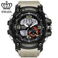 Smael relojes militar hombres led digital reloj de los hombres se divierte el reloj masculino ejército automático analógico reloj de cuarzo relogio masculino