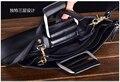 Caja del cuero genuino maletín portátil bolsas para 11 13 15 pulgadas Macbook Air Pro Retnia portátil estuche protector