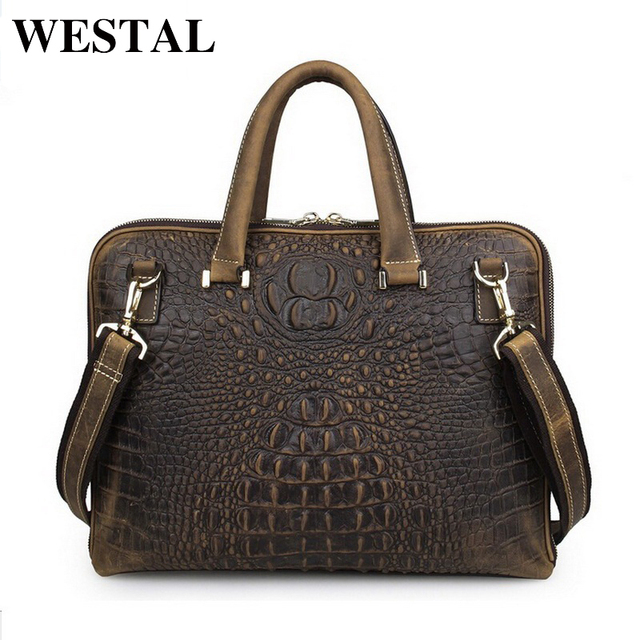Aliexpress.com : Buy WESTAL 14 inch business briefcase laptop bag ...