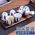 Ручная роспись японский кунг-фу ароматизированный чайный набор бытовой фильтр сетка ретро старинный керамический чайник с боковой ручкой ...