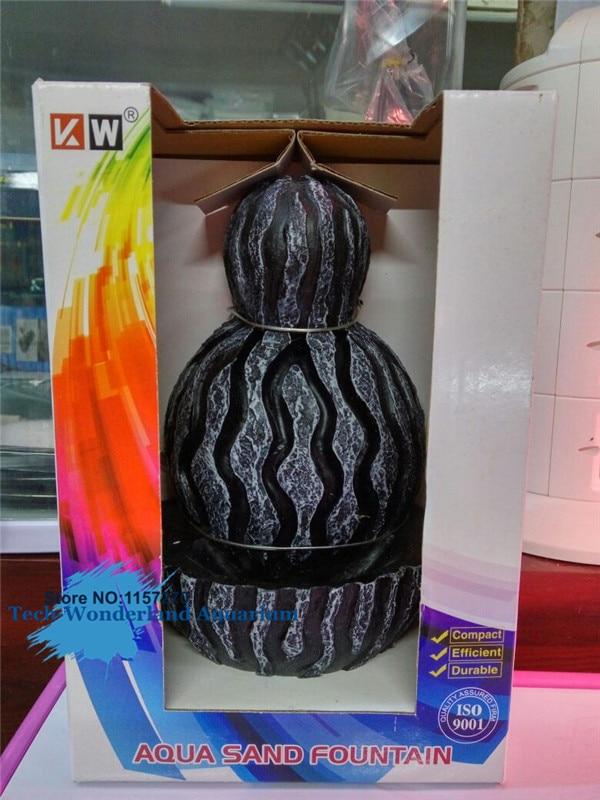 Aquarium Decoration High Quality Aqua Sand Fountain For Aquarium Fish Tank Resin Ornament 1pc