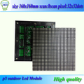 3in1 SMD Full color P5 LED display module,1/8 Scan, 160*160mm 32*32 pixels; Waterproof Outdoor P5 RGB LED Display Panel