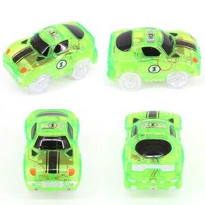 Image 2 - Büyülü parça LED ışık elektronik araba parça oyuncak parçaları 5 renkli ışıklar çocuk oyuncakları bulmaca oyuncak araba doğum günü hediyeleri