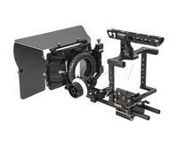 CAME TV Legendary DSLR Cage Follow Focus Handle w/ HDMI Clamp for 5D/7D/GH3