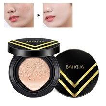 ICYCHEER Makeup Air Cushion BB Cream Concealer Moisturizing Whitening Foundation Natural Brightening Pore Minimizing