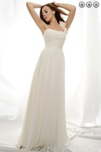 free shipping maxi dress 2013 designer new fashion white long plus size brides maid chiffon Bridesmaid Dresses bridal gown