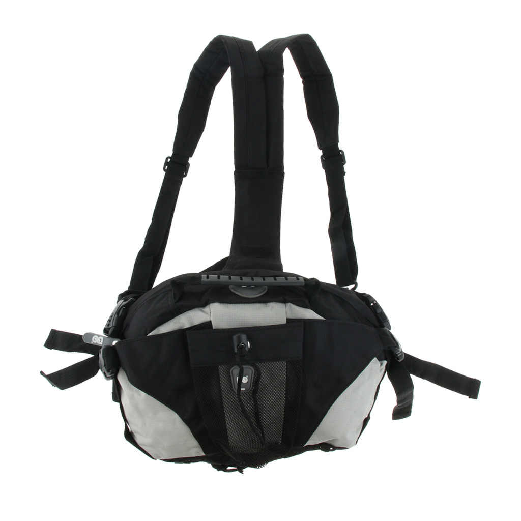 Skatepack Quad Roller Skate Bag Shoulder Backpack Waist Pack for Sports Shoes Sneakers Skating Accessories