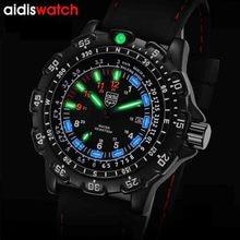 Top Merk Addies 2020 Nieuwe High Fashion Luxe Mannen Horloges Relogio Masculino Lichtgevende Quartz Horloge Mannen Sport Militaire Polshorloge