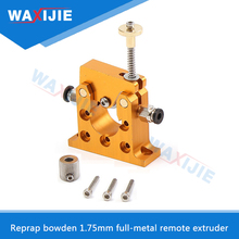 Reprap Kossel All Metal Bowden 1.75mm Remote Extruder Kit Bore 5mm For 42 Stepper Motor Prusa i3 3D Printer (Not Include Motor) стоимость