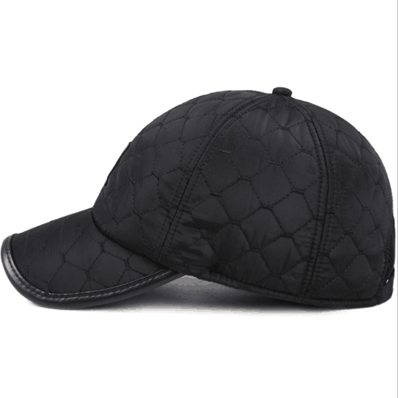 [Swing giant shark] 2017 fashion men winter gorra de beisbol warm ear protection baseball caps men label golf bone snapback men