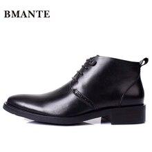 Роскошные Дизайнерские повседневные Брендовые мужские ботинки из натуральной кожи; деловая обувь «Чукка»; Мужская офисная обувь «Челси»; de Chaussure