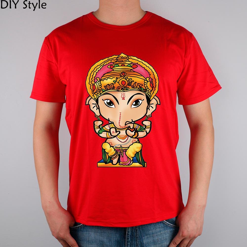 GANESH T-shirt de bumbac Lycra de top 2048230185 Brand de moda ART - Imbracaminte barbati