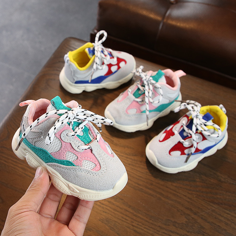 2019 Summer Baby Girl Boy Toddler Shoes Infant Casual Running Shoes Soft Bottom Comfortable Shallow Autumn Children Sneaker