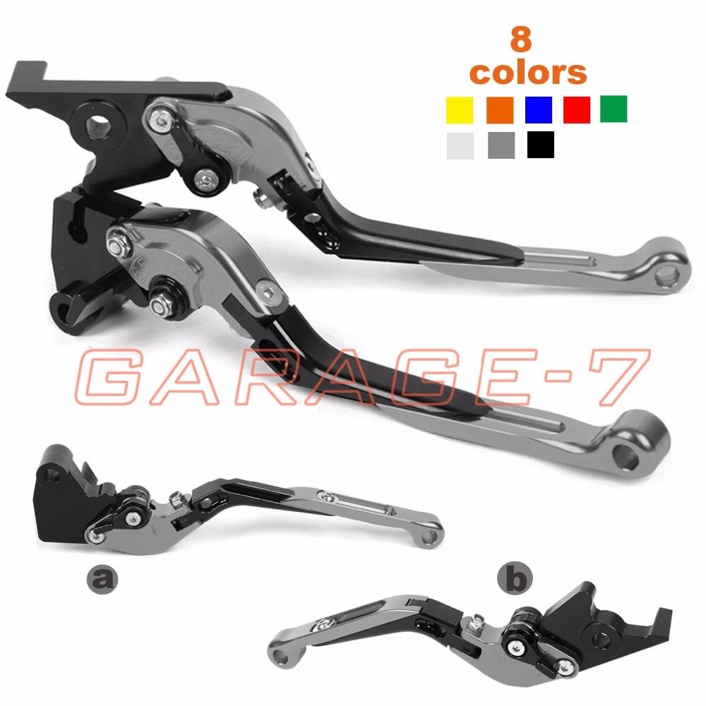 For Suzuki SV1000 S BANDIT GSF1200 GSX1250 F SA ABS GSX1400 GSX1250 GSF650 Motorcycle CNC Foldable Extending Brake Clutch Levers for suzuki gsf 1250f bandit gsf 1200 gsx 1400 aluminum short brake clutch levers black