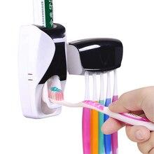 Автоматический диспенсер для зубной пасты, пластиковый держатель для зубной щетки Lazy 5, соковыжималка, полки для ванной комнаты, аксессуары для купания