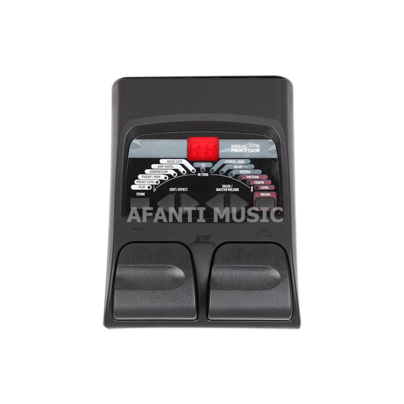 Afanti Music Electric Guitar Effects (EFF-108) afanti music diy sg alder body electric guitar body ajb 157
