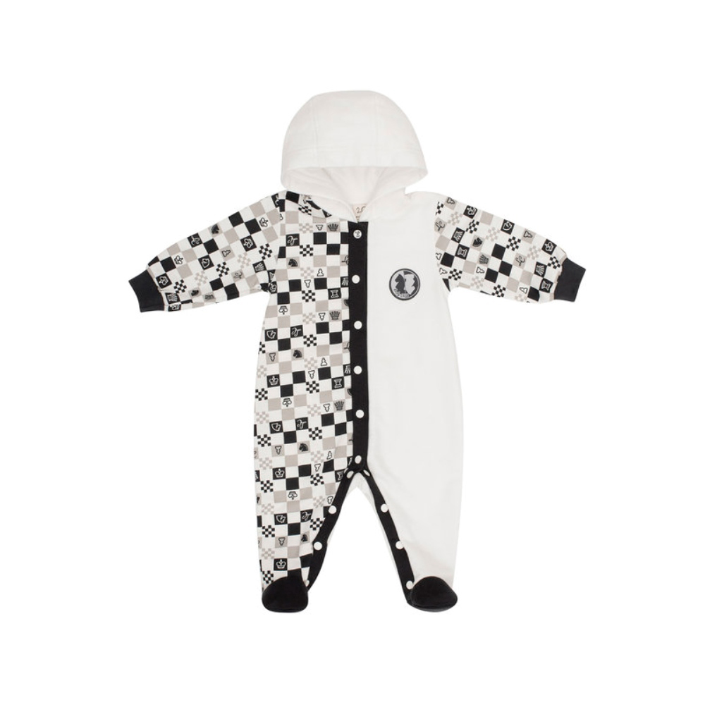 Jumpsuit Lucky Child for girls and boys 29-3f Children's clothes kids Rompers for baby baby rompers winter thick climbing clothes newborn boys girls warm romper flannel cartoon hooded outwear