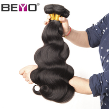 Beyo Malaysian Body Wave Hair Bundles 10-28 Inch 100% Human Hair Bundles Can Be Dyed 1 PCS Non-Remy Hair Weave Free Shipping