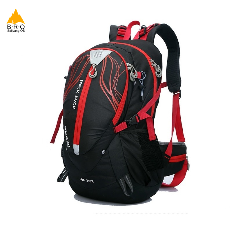 40L Bicycle Backpack Stent System Cycling Bag Waterproof Bike Shoulder Backpack Sport Outdoor Hydration Bicycle Water Bag wheel up bicycle rear seat trunk bag full waterproof big capacity 27l mtb road bike rear bag tail seat panniers cycling touring