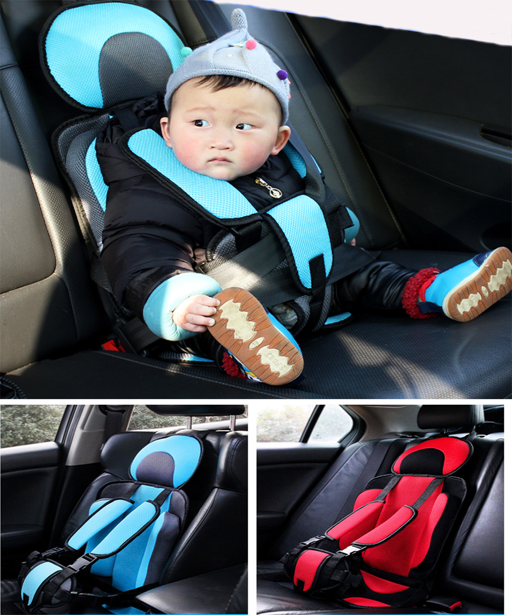 Infant Safe Seat Portable Baby Car Seat Children's Chairs Updated Version Thickening Sponge Kids Car Seats Children Safety Seat