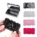 New Fashion Portable Cosmetic Makeup Mirror Eyelashes Jewelry Rings Necklace Storage Case Box  FM88