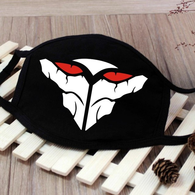 1PC Cartoon Face Mask Funny Teeth Pattern Unisex Cute Anti-bacterial Dust Winter Cubre Bocas Hombre Mouth Mask High Quality 2