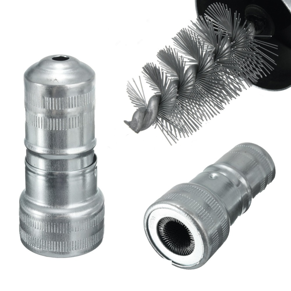 90mm Self-Contained Twin Steel Brushes Battery Post /& Terminal Cleaner