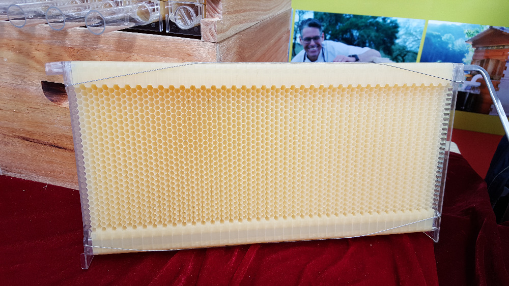 4 pieces auto flow honey flow frame /out flow honey frame for beehive new experience beekeeping frame auto flow hive frame price with 7 pcs frames