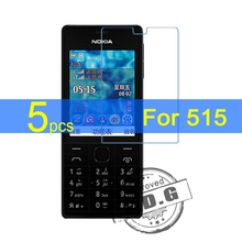 5pcs Gloss Ultra Clear LCD Screen Protector Film Cover For Nokia 515 N515 Protective Film