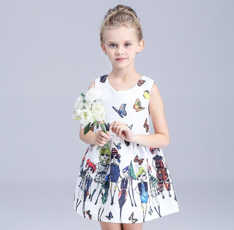 765ce54199f8f 2016 nouvelle mode filles robe bébé fille fleur robes filles vêtements pour  3 4 5 6 7 8 9 10 années fille fait dans chine