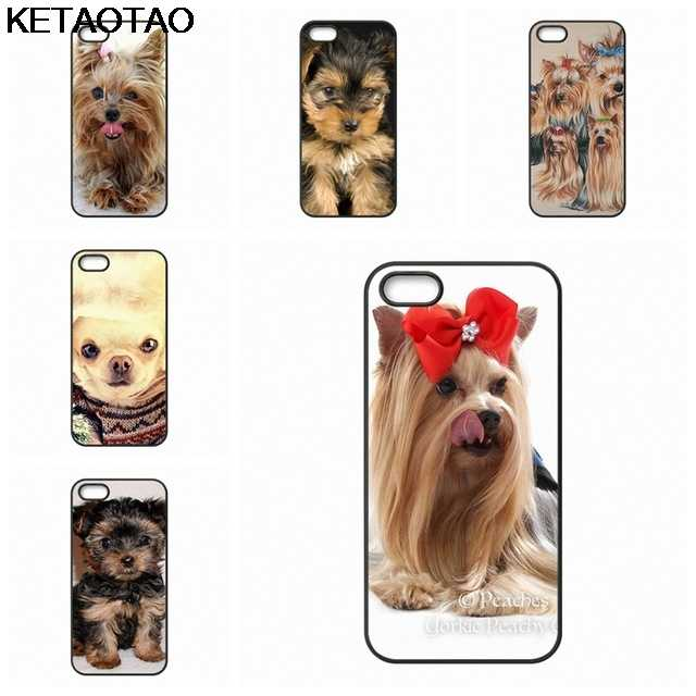Ketaotao йоркширского терьера Chiot Chien телефонные чехлы для samsung S3 S4 S5 S6 S7 S8 S9 NOTE 4 5 7 8