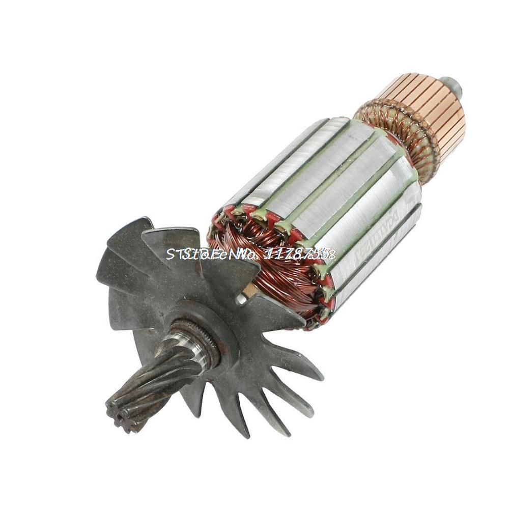 14mm drive shaft 11 teeth electric motor rotor ac 220v for for Add electric motor to drive shaft