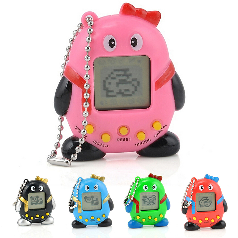 NEW Pets Nostalgic Virtual Pet Cyber Pet Digital Pet Tamagotchi Penguins E-pet Gift Toy Handheld Game Machine
