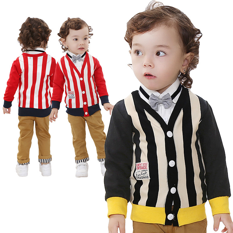 ФОТО Anlencool Rushed Coat Free Shipping High-quality New Sliver Child Models British Style Suits Baby Clothing Brand Clothes Set