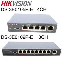 の Hikvision 4 poe スイッチ DS 3E0105P E DS 3E0109P E 8 ポート 100 mbps のスイッチ管理 8 スイッチ poe