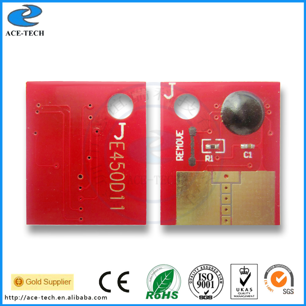 E450 Compatible reset toner chip for Lexmark E450/450dn laser printer cartridge 11K with a lower discount lexmark