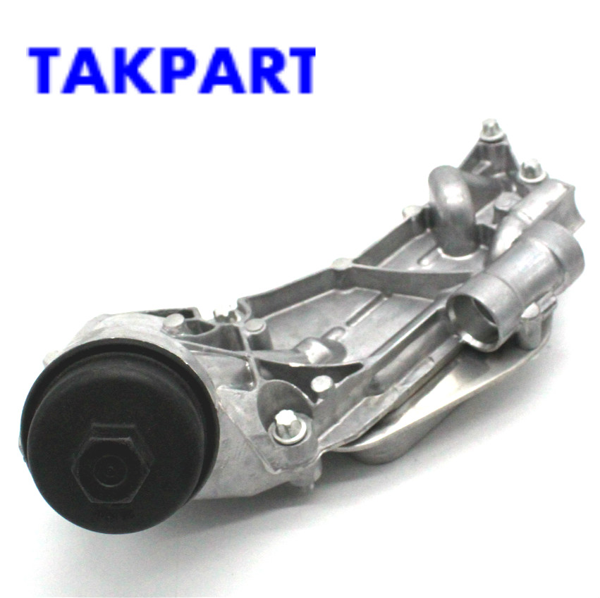 Takpart For Chevrolet Cruze Aveo Engine Oil Cooler W   Oil Filter Assembly Topaz 93186324