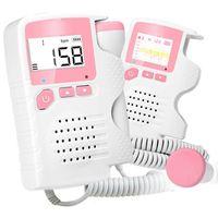 Detector Fetal Doppler Pocket Prenatal Baby Heart Beat Monitor Rate 4.5 Display Fetal Doppler For Pregnant Women Household Mini