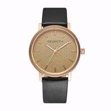 2018 новое влюбленных возрождение Роскошные модные Повседневное Кварцевые женские джентльмен наручные часы Бизнес Золотой Пара zegarek damski 004