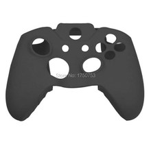 Black Color Soft Silicone Case Gel Rubber Grip Controller Cover Protecting For Xbox One Game Accessories