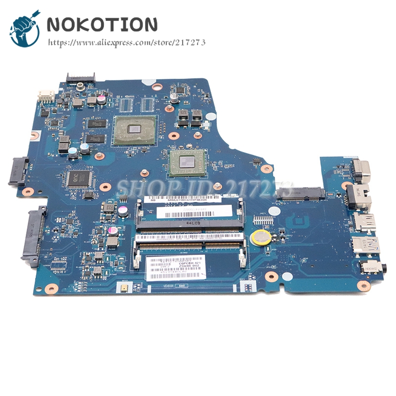 NOKOTION For Acer Aspire E5-521 E5-521G Laptop Motherboard Z5WAE LA-B231P NBMS511001 DDR3 With Processor Onboard