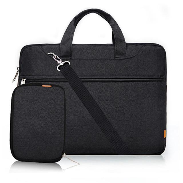 11.6 13.3 15.6 Inch Laptop Shoulder Messager Bag Case For Macbook Pro Air 11 13 14 15 Inch Asus HP Dell Notebook Handbag Cover