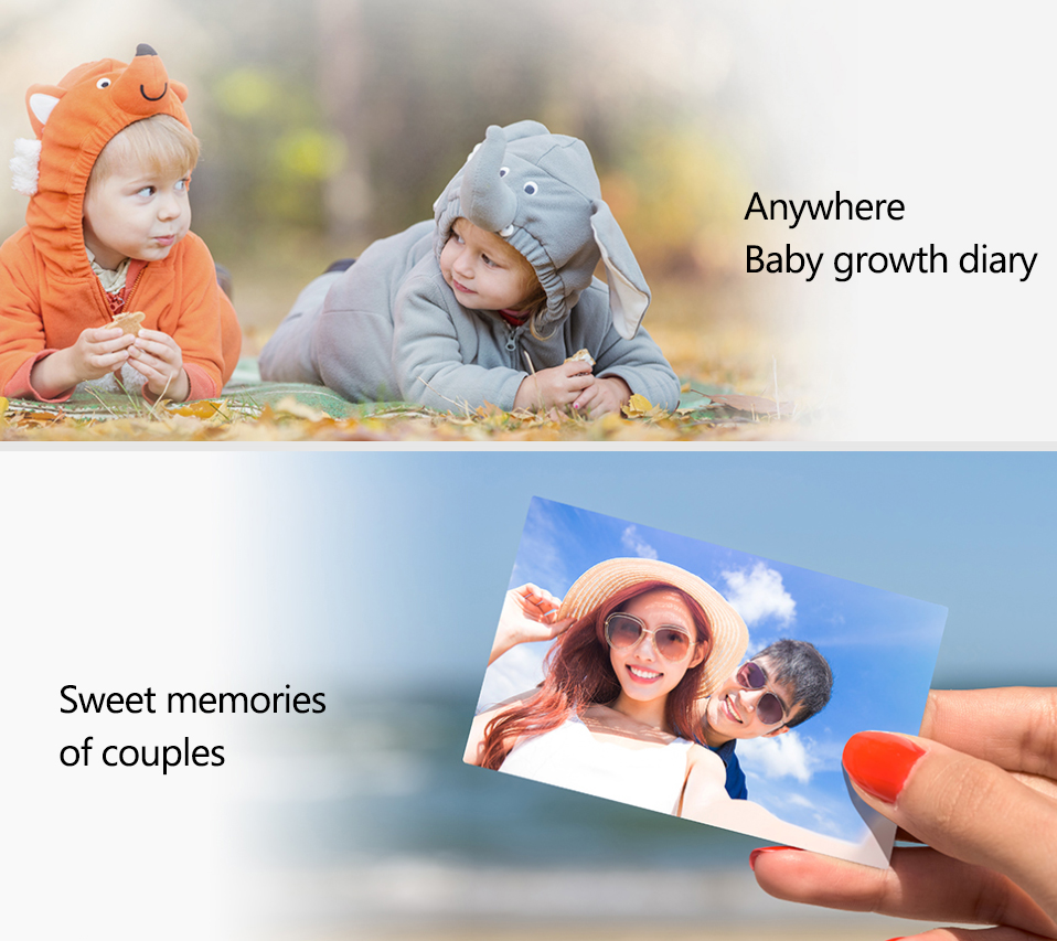 AR Printer 300dpi Original Huawei Zink Portable Photo Printer Honor Mini Pocket Printer Bluetooth 4.1 Support DIY Share 500mAh (2)