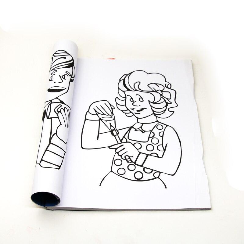 Bonito Un Divertido Libro Para Colorear Mágico Viñeta - Dibujos Para ...