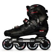 100% oryginalny 2020 najnowszy SEBA S slajdów profesjonalne dorosłych rolki z włókna węglowego buty Slalom przesuwne darmo łyżwiarstwo Patines