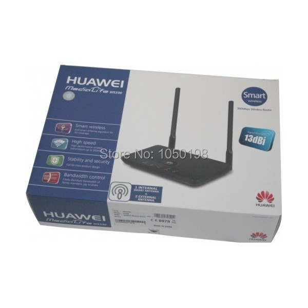 Huawei-WS330-300Mbps-Smart-Wireless-Router-EU-2-pin-Power-Plug