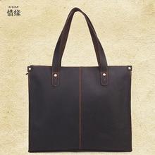 XIYUAN BRAND fashion Genuine Leather Handbags Cowhide Men Crossbody Bags Men's Travel Bag Tote Laptop Briefcases Men Bags gifts